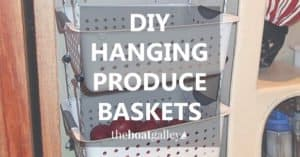 How to make your own hanging fruit baskets -- a 30-minute easy DIY project!