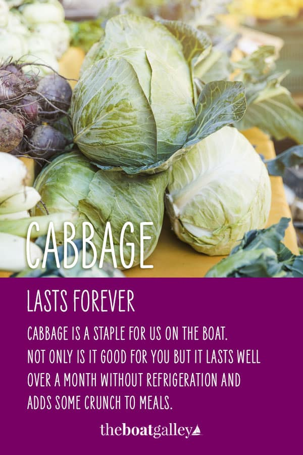 Pinterest image for Storing Cabbage Without Refrigeration