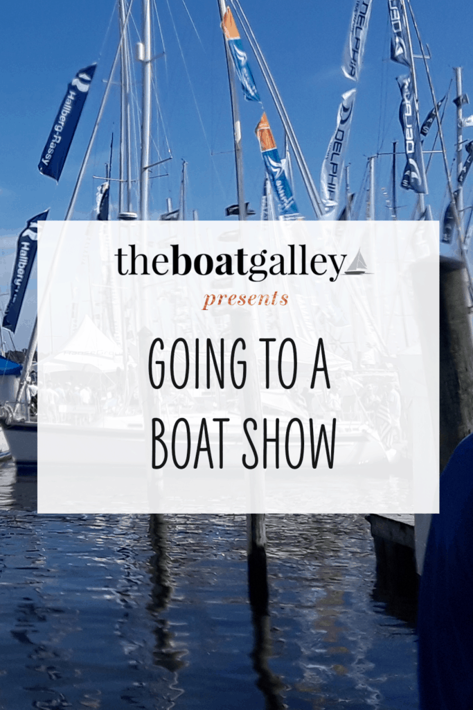 Thinking of going to a boat show and want to make the most of your time there without being overwhelmed? My tips for a fun and productive time!