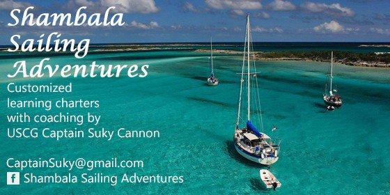 Shambala Sailing Adventures - boats at anchor