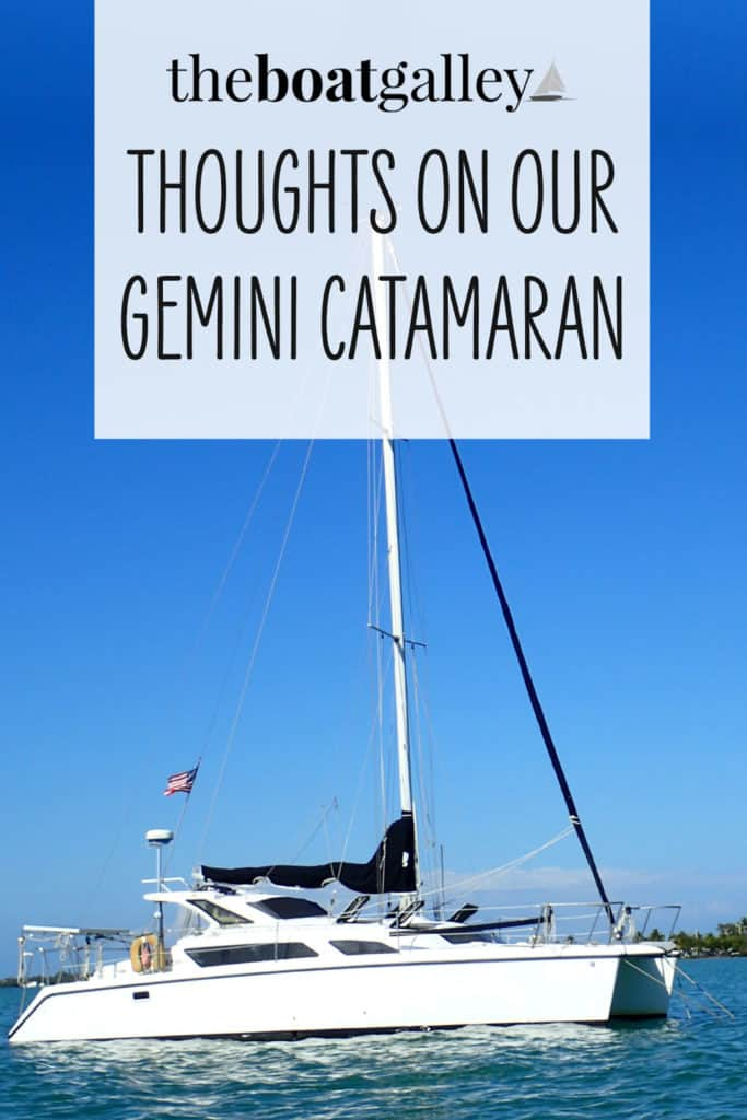 We went from a monohull (Tayana 37 to a catamaran (Gemini). Here's our thoughts on the cat.