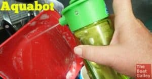 Want a small pressure sprayer? Say to do dishes, wash off feet or snorkel gear, or rinse veggies? The Aquabot is the answer.