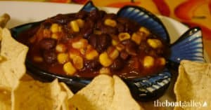 Picture of black bean and corn salsa