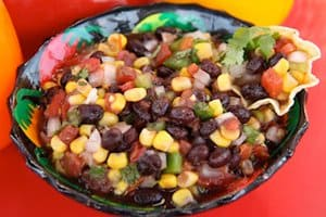 Pimage of black bean and corn salsa