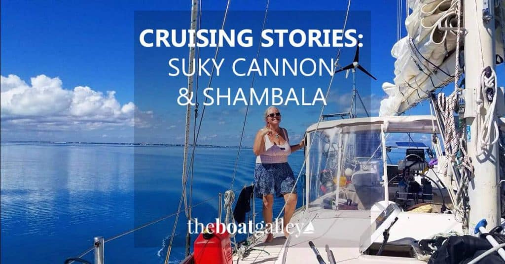 """Suky's """"Cruising Story"""" is a short one, but heartfelt. Was she nuts to buy a 41' boat to cruise (and offer learning charters on) singlehandedly?"""
