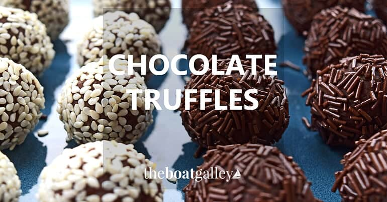 Truffles are true chocolate decadence and very easy to make!
