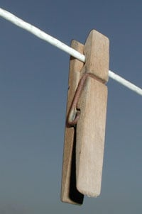 Typical clothespins rust, break, pop off and stain your laundry. Four alternatives that do better.