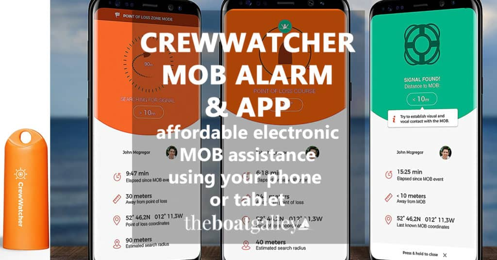 An affordable MOB alarm using Bluetooth and your smartphone or tablet. If you know IMMEDIATELY if someone goes overboard, there's a much better chance of recovery!