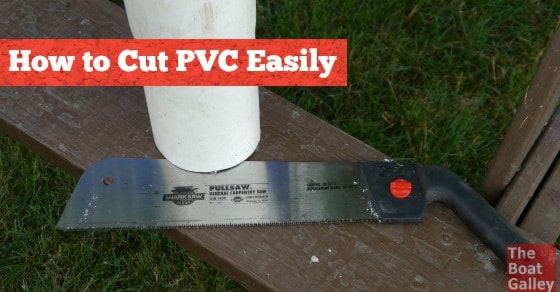 I've had to cut PVC for several galley projects and hated cutting it. Then I tried this saw. Four words say it all: HOT KNIFE THROUGH BUTTER.