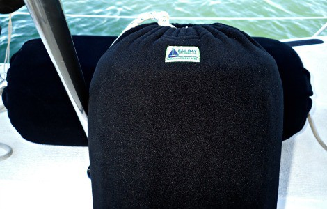 Sailbay Boat Fender Covers: Fender covers can improve the looks of old or mismatched fenders, but more importantly they'll protect your hull from marks left by the fenders.