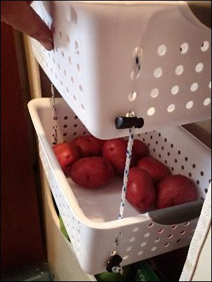How to make your own hanging fruit baskets -- a 30-minute easy DIY project