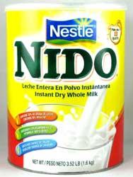 Nido brand powdered milk -- it's great