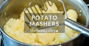 Making mashed potatoes and more without electricity is easier with the right masher. Here are the pros and cons of several potato mashers and ricers and what I think work best.