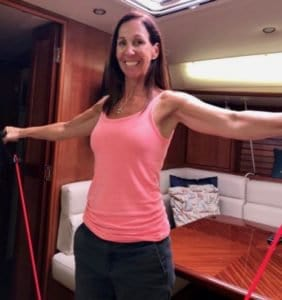 Can you stay fit after 40 on a sailboat? Yes, and here's how.