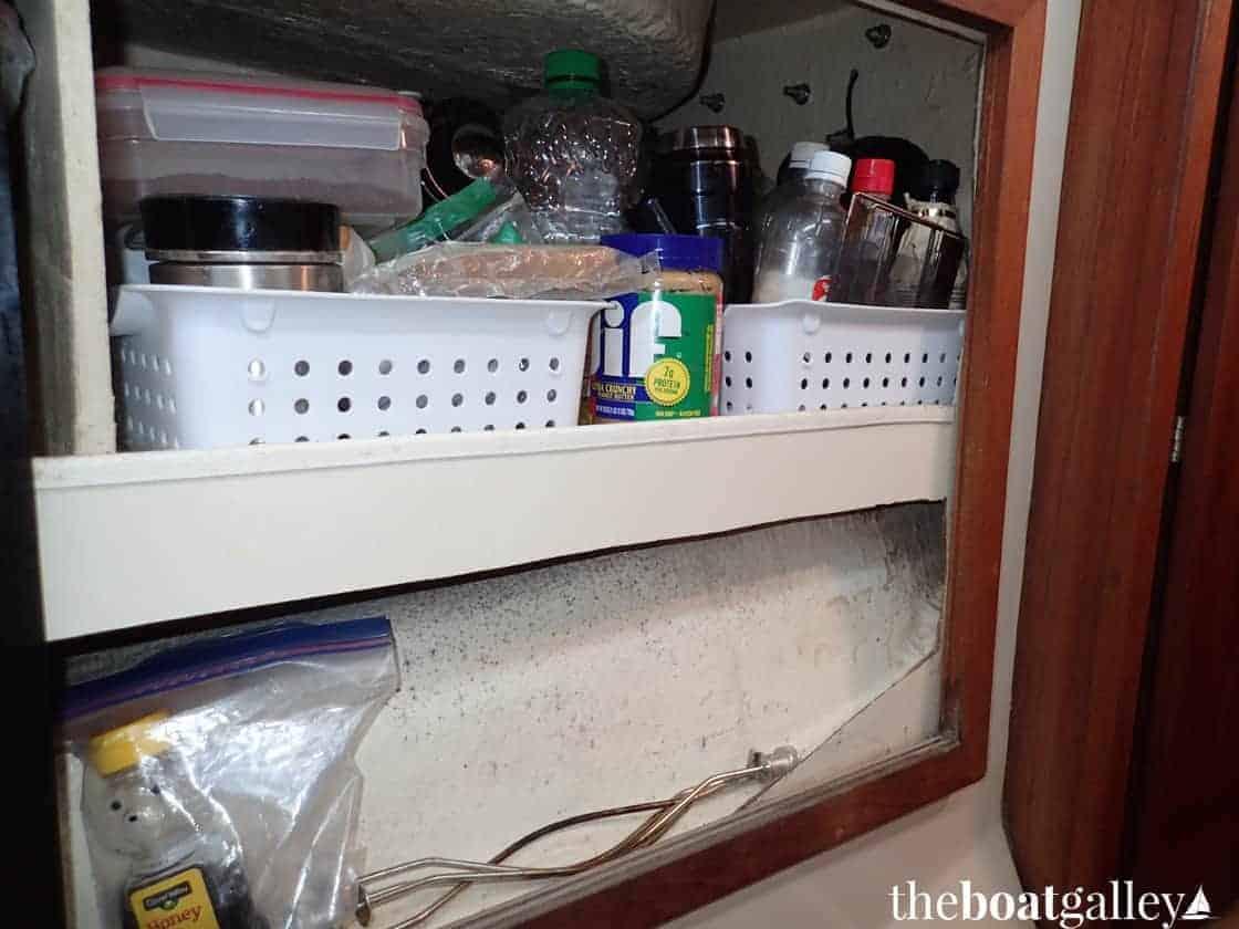Misc. locker in galley