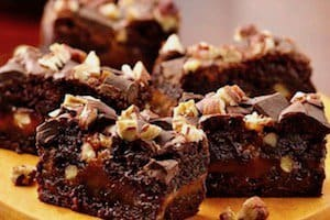 A wonderful treat for a special occasion -- with a variation in case you can't get a German Chocolate cake mix.