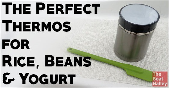 A 2-cup (pint/half liter) thermos that retains heat for 10+ hours -- perfect for cooking rice or beans and making yogurt!
