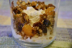 It's easy to make your own granola and the ingredient list can be flexible to accomodate your tastes -- and what you have available!